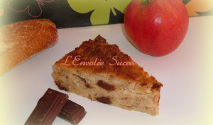 Pudding Choco-Pommes