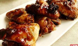 Ailes de poulet caramélisés au coca