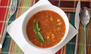 Zuppa di Pesce con Faggioli