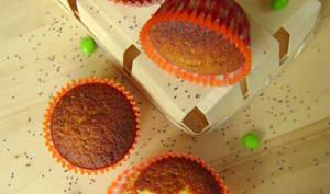 Petits cakes au citron vert et graines de pavot