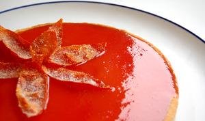 Tarte rhubarbe et tomate