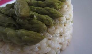 Risotto aux asperges vertes