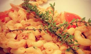 La salade de coquillettes au thon de Mademoiselle M.