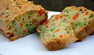 Cake aux petits légumes