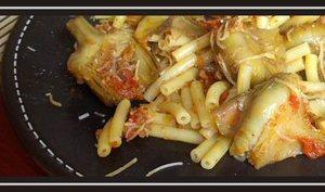 Artichauts poivrades à la sauce pimentée