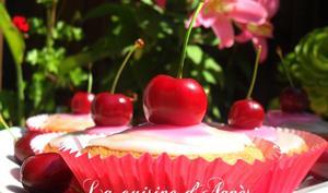 cupcakes aux cerises