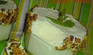 Soufflé glacé au citron vert