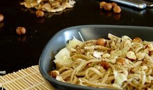 Spaghetti frais aux cèpes séchés