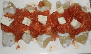 Cannellonis ricotta-épinards-gorgonzola