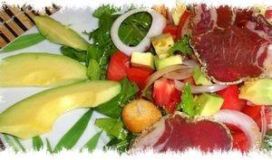 Salade improvisée