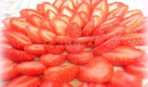 Tarte aux fraises et crème pâtissière au mascarpone