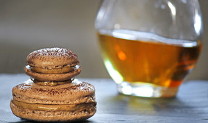 Religieuse macaron Irish Coffee