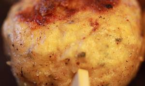 Boulettes de poulet aux épices et noix de macadamia