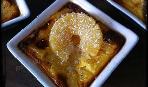 Petits flans ananas
