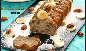 Banana bread, maple syrup