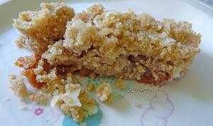 Crumble de pommes-cajou