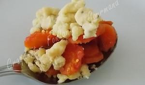 Crumble de carottes anisé