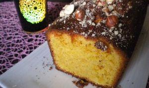 Cake aux noisettes et au rhum sans alcool