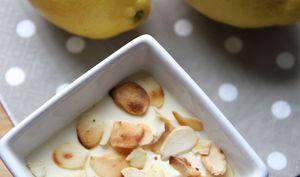 Crème express au citron