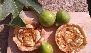 Tartelettes aux figues et aux citrons caramélisés