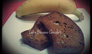 Cake léger Banane et Chocolat