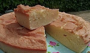 Le gâteau Bon Accueil à la fleur d'oranger