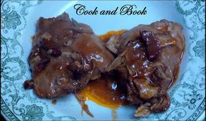 Cuisses de poulet au vin