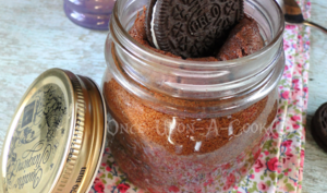 Le fondant au chocolat, coeur coulant d'Oreo in a jar