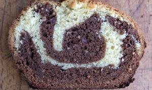 Cake marbré façon savane au pralin