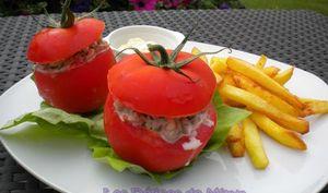 Tomates crevettes comme à Ostende