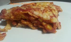 Pizza et lasagnes à la mexicaine