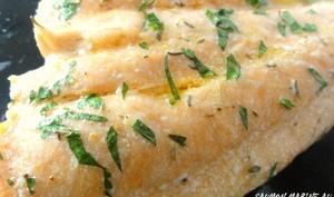 Plancha de saumon mariné avec du citron