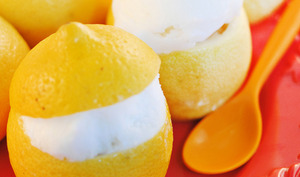 Sorbet citron et Citrons givrés