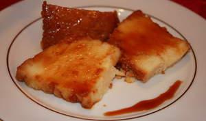 Gâteau de Semoule au Caramel