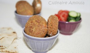 Falafels au fromage Kiri