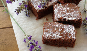 Mini Brownie Chocolat Lavande