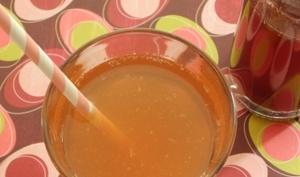 Sirop de fraise maison au sucre complet