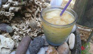 Granité de citron au thé glacé maison