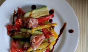 Salade Croquante et Jambon Serrrano