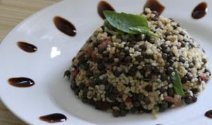 Salade Lentilles Boulgour