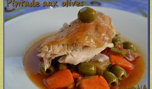 Pintade aux olives
