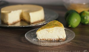 New York Cheesecake au citron vert