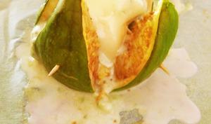 Figues rôties au gorgonzola et aux amandes