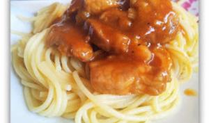 Spaghettis au porc à la texane