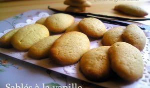 Biscuits à la vanille réunionnaise