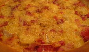 La Tarte qui se prend pour une pizza