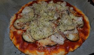 Pizza légumes et poulet