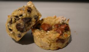 Muffins choco banane
