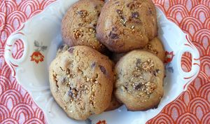 Cookies pépites chocolat Nougatine