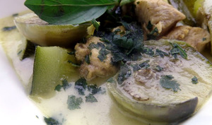 Curry vert de poulet Thaï